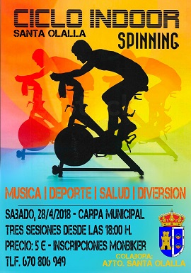 2018 Ciclo Indoor Spinning - Fiestas
